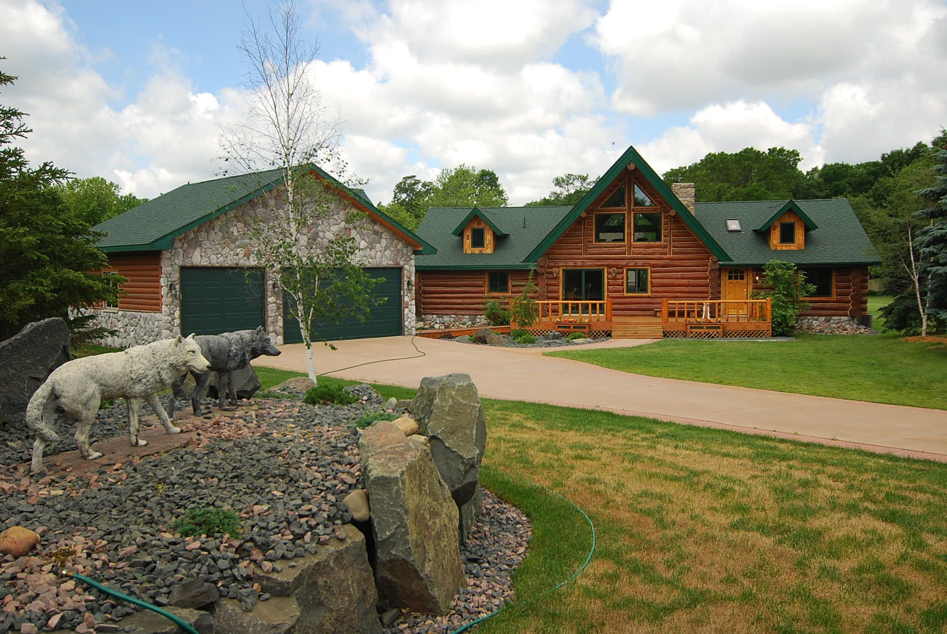 minnesota entry mn sale in cabins exterior homes log for front