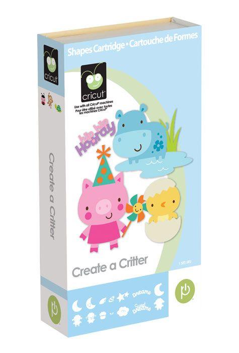 Provo Craft Cricut Shape Cartridge-Create A Critter 2