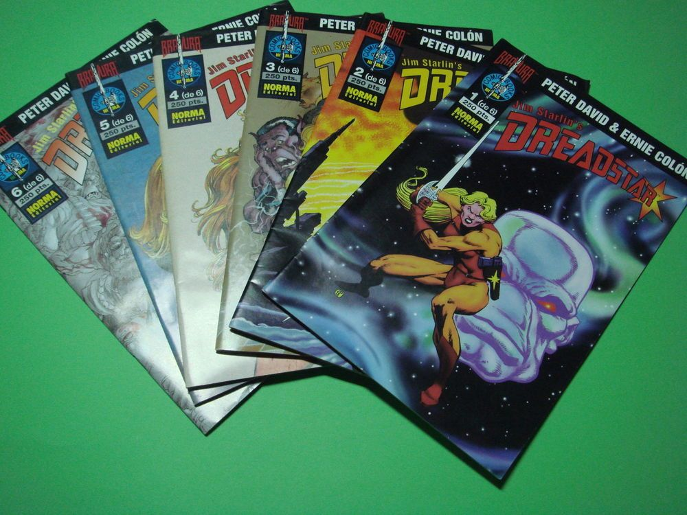 Lote De  6 Comic Jim Strarlin´s Dreadstar - Peter & Ernie Colon