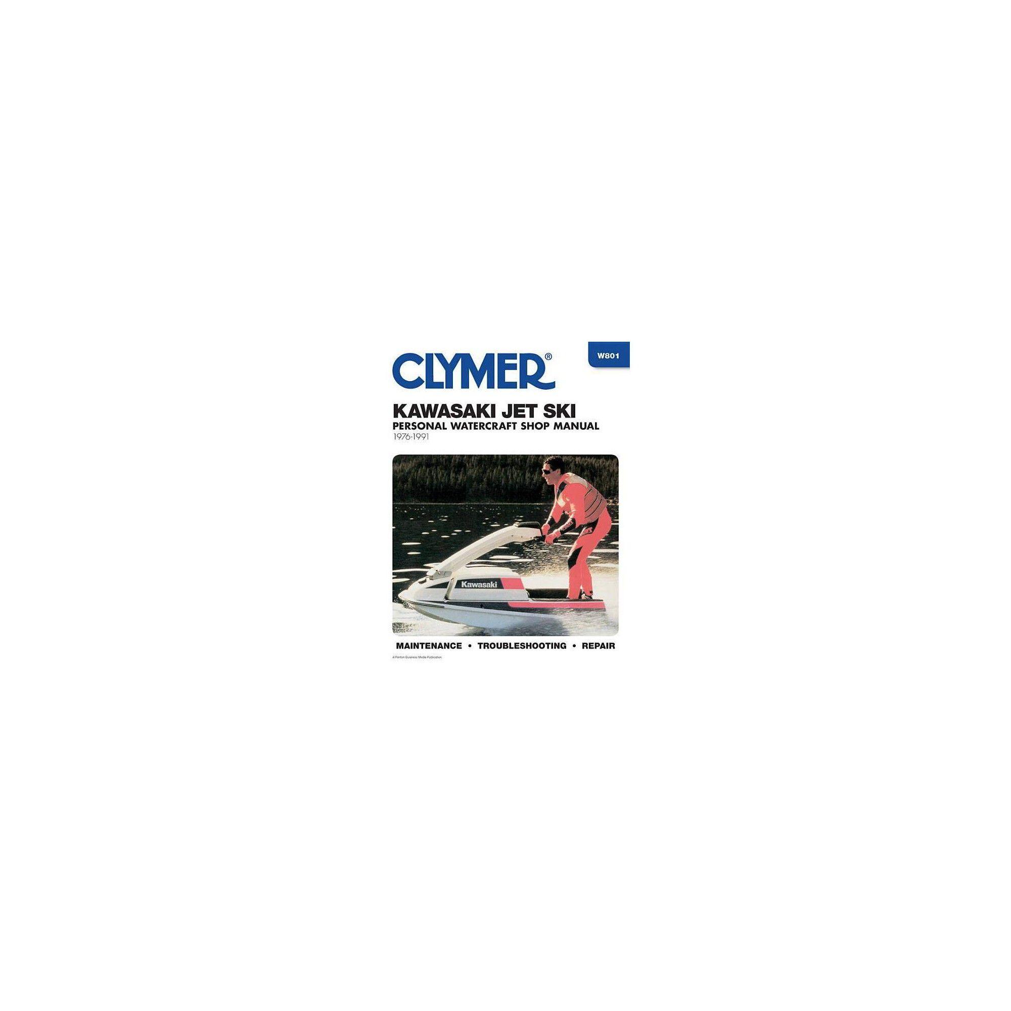 Clymer Repair Manual for Kawasaki Jet Ski 1976-1991 Automotive ...
