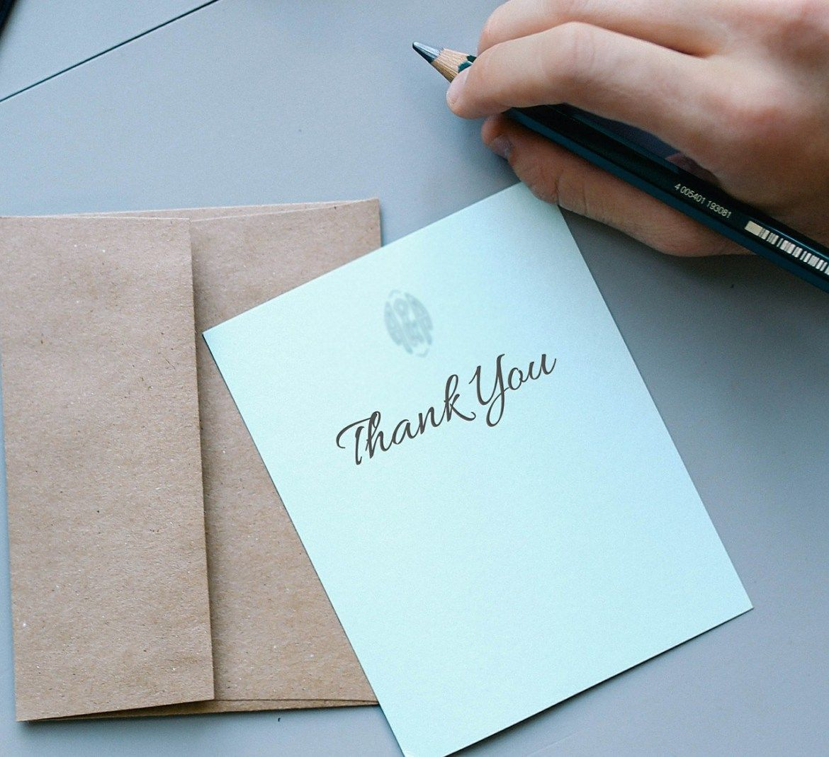 End Of Internship Thank You Note Examples