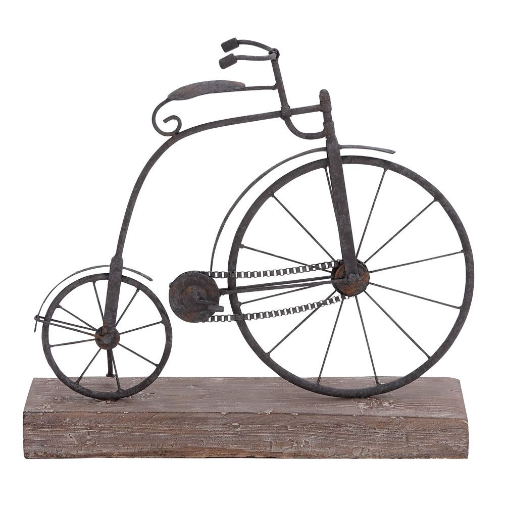 Vintage Bicycle Decor Made By Parisian Market Finds Welcome To Luxeyard Com Bicycle Decor Vintage Bicycle Decor Penny Farthing