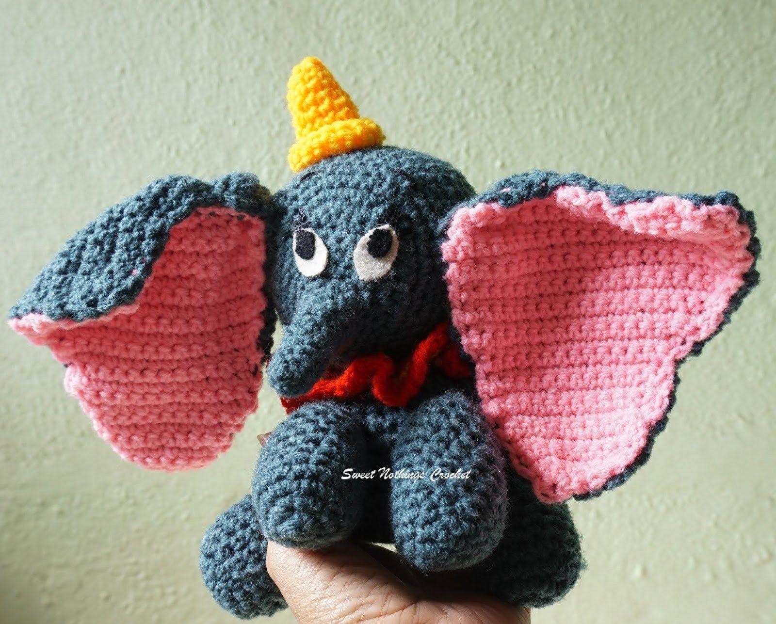 35+ Inspired Image of Free Crochet Elephant Pattern