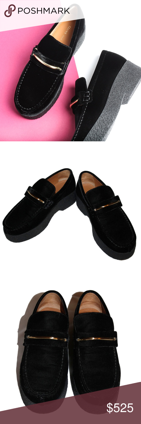 discount visit online cheap price Céline Platform Round-Toe Loafers buy cheap low price fee shipping with paypal for sale best store to get sale online pCzNrIc