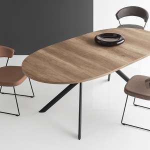 Table Ovale Extensible En Melamine Giove Connubia Table A Manger Ovale Extensible Table Ovale Table Moderne