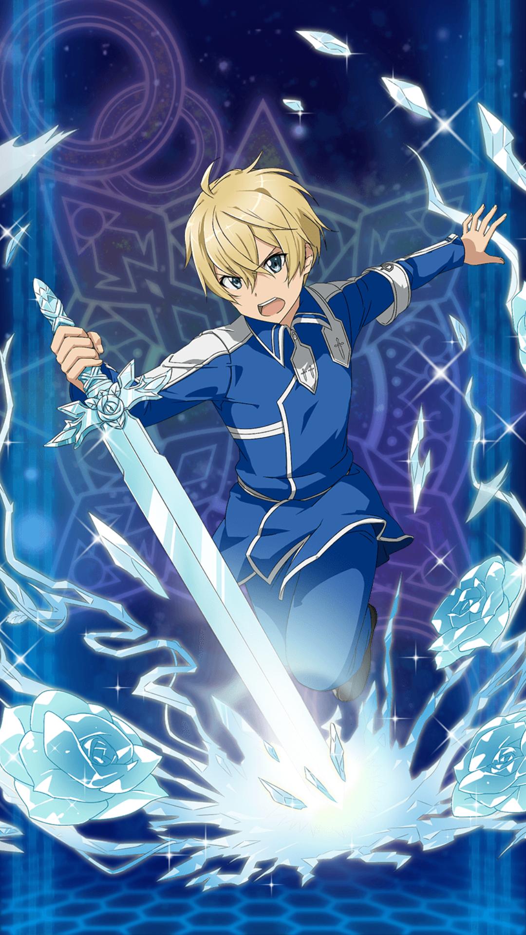 Eugeo Personaje Perteneciente Al Arco De Alicization Kirito De Sword Art Online Línea De Arte Arte De Anime