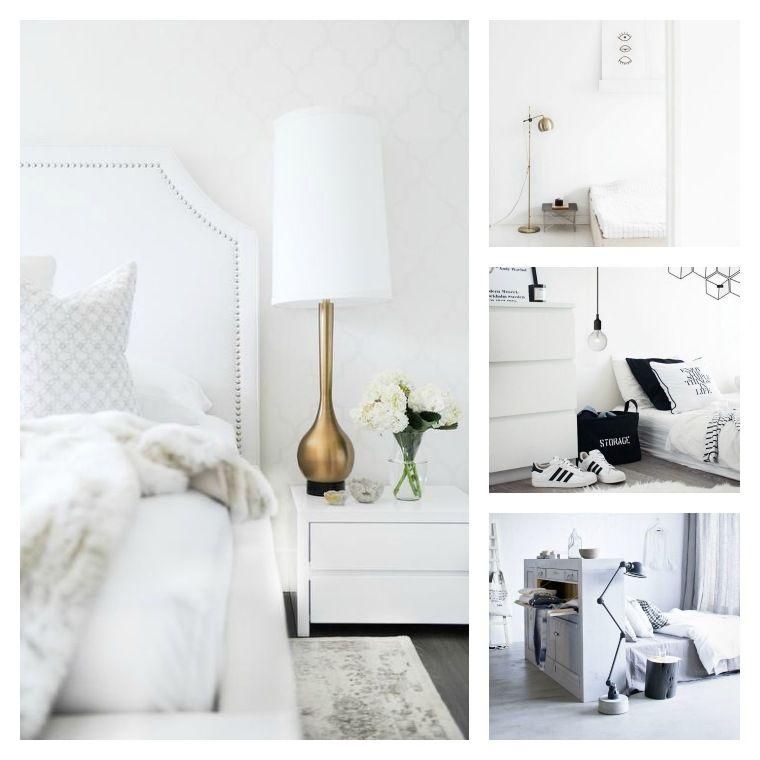Wandfarbe Schlafzimmer Weisse Möbel: Pin Auf SCHLAFZIMMER