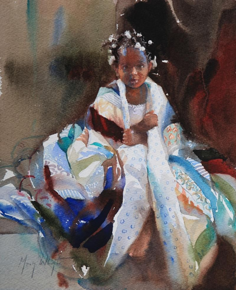 Little Dynasty Artist Mary Whyte Watercolorist Mary border=