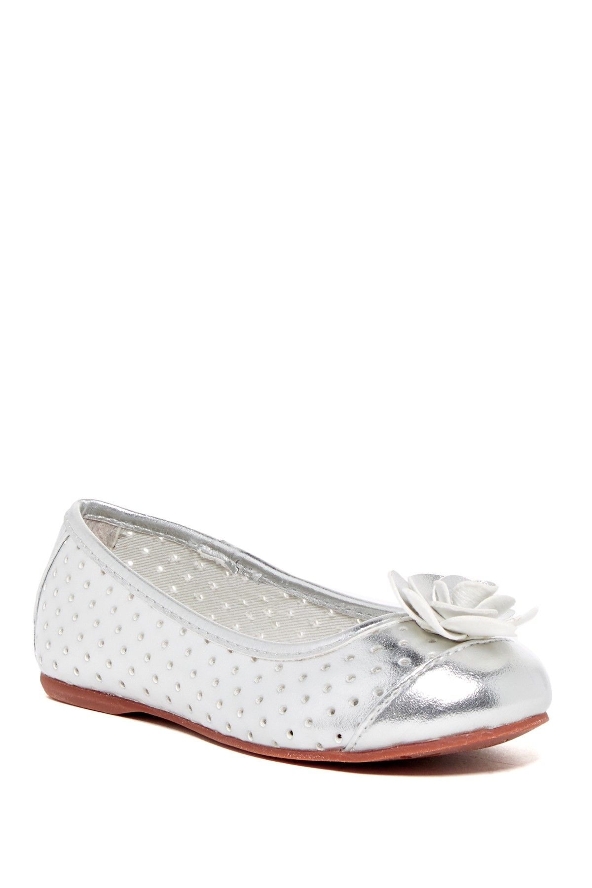 Ursula Perforated Flat (Toddler & Little Kid)