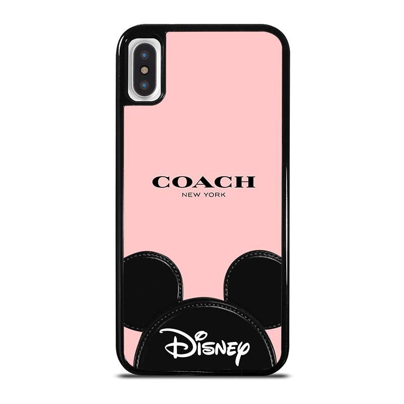 check out 93fd6 ad08d COACH NEW YORK DISNEY iPhone X / XS Case Cover di 2019 | iPhone X ...