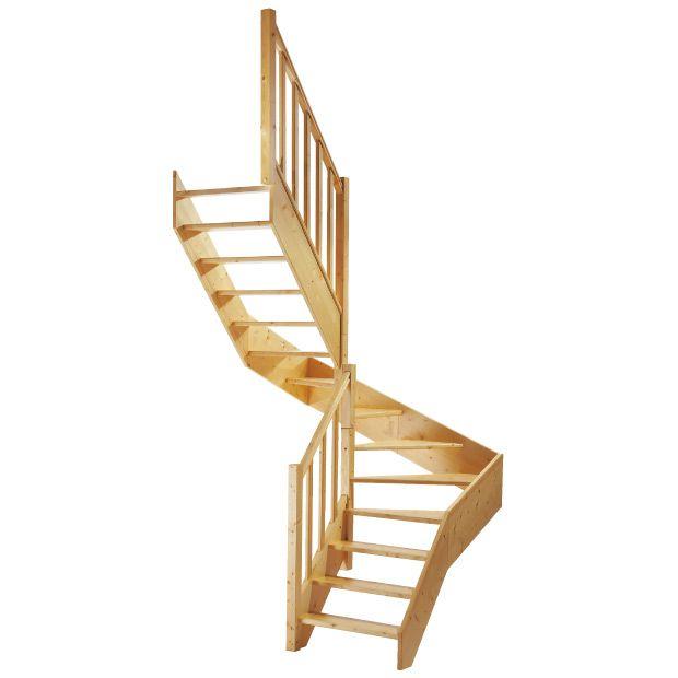 Escalier 2 Qts Modulo Sapin Lapeyre Idée Déco Escalier