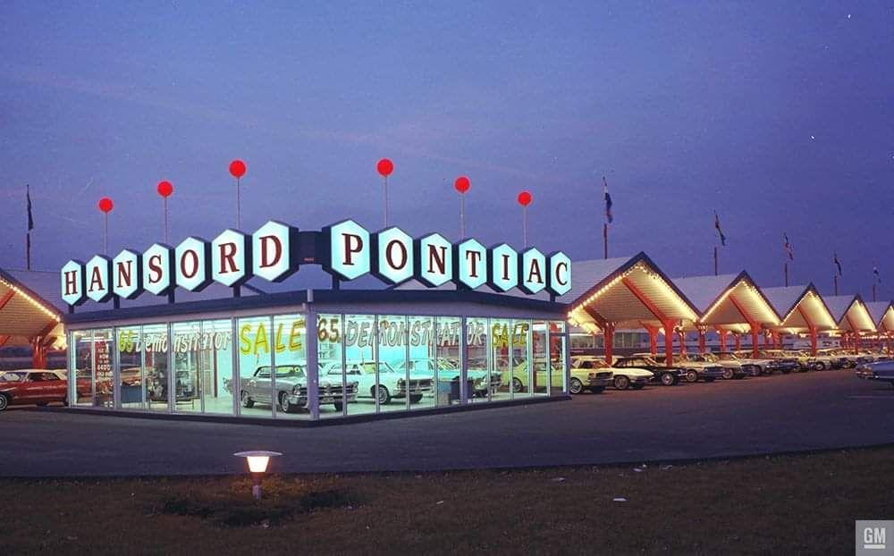 1965 Hansord Pontiac Dealership, Minneapolis, Minnesota