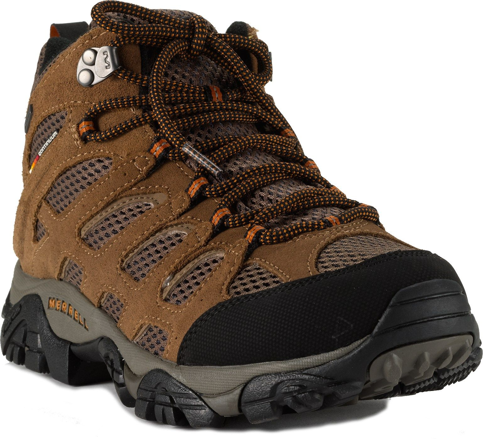 Merrell Men's Moab Mid Waterproof Hiking Boots Earth 13 ...