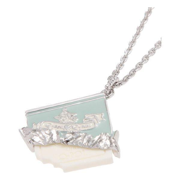 カレドショコラネックレス found on Polyvore featuring necklaces