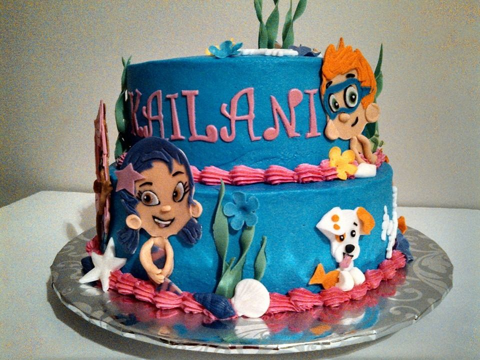 Bubble Guppies Birthday Cake At Baked By Brenda Omaha Ne
