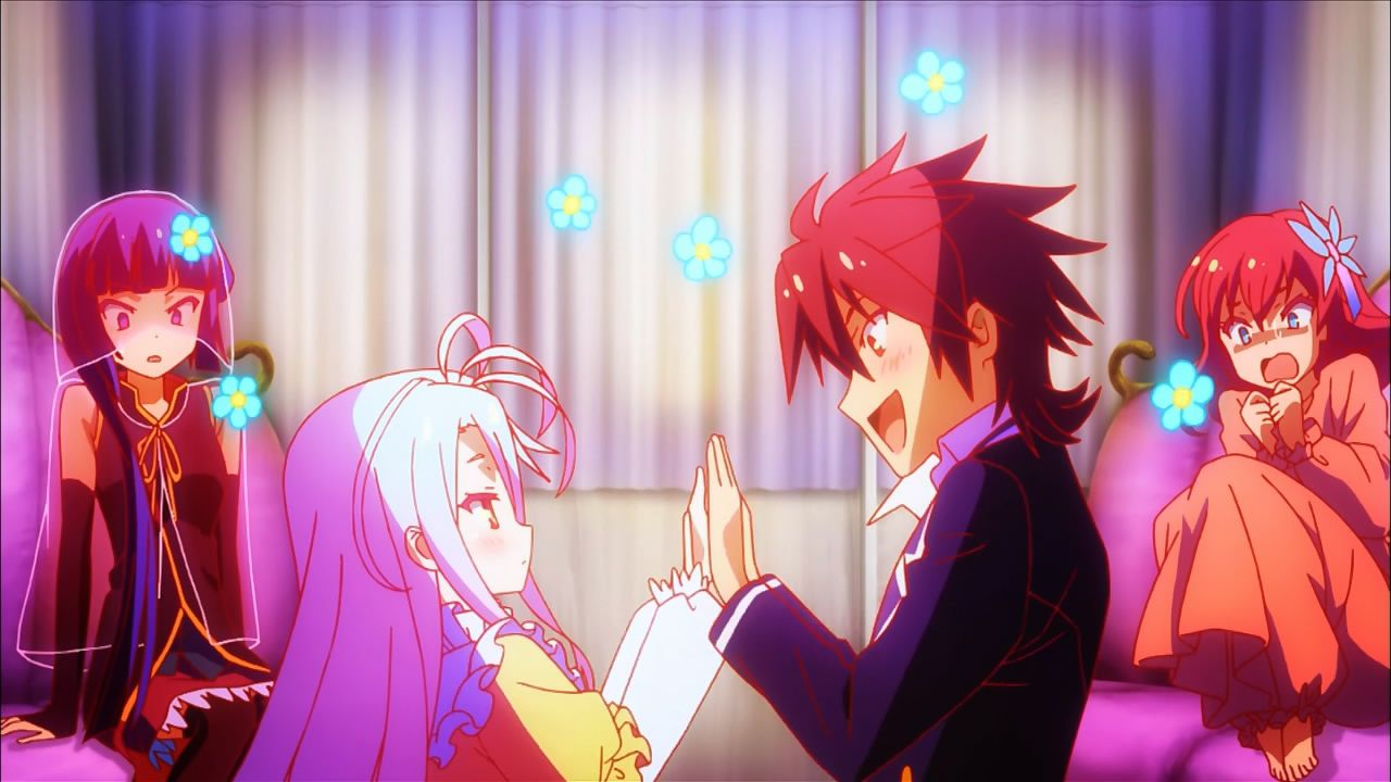 Image result for no game no life sora and shiro
