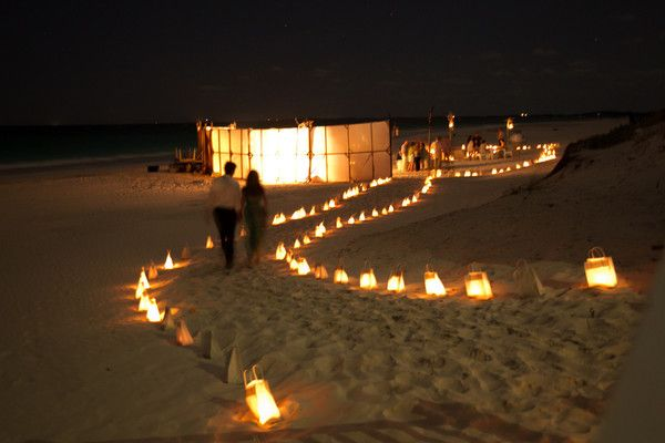Beach Bonfire Wedding Reception The Best Beaches In The World