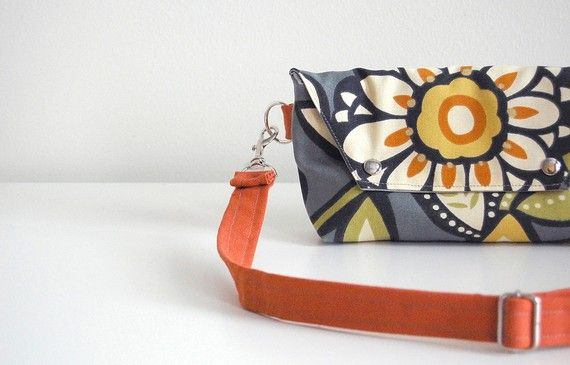 Traveler in Mod Industrial Flowers - LAST ONE - Made to Order