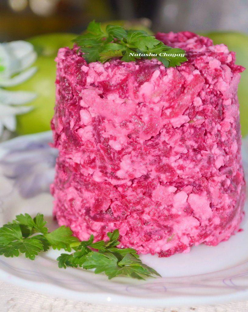 рецепты из творога салаты