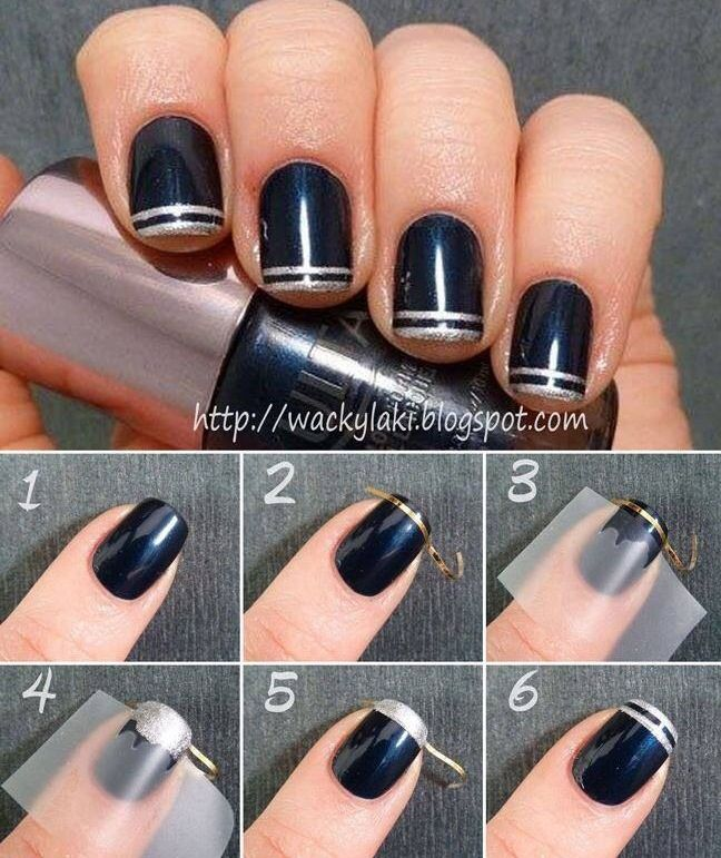 these black nails are pretty nagellack pinterest schwarz matt nagelschere und glanz. Black Bedroom Furniture Sets. Home Design Ideas