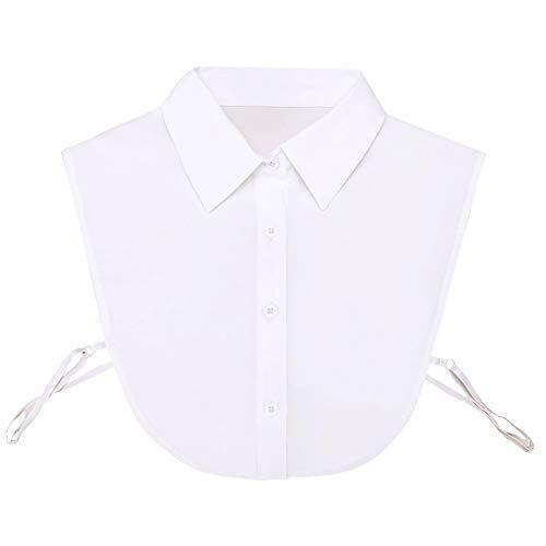 Shinywear Detachable Pointed Collar Classic Fake D