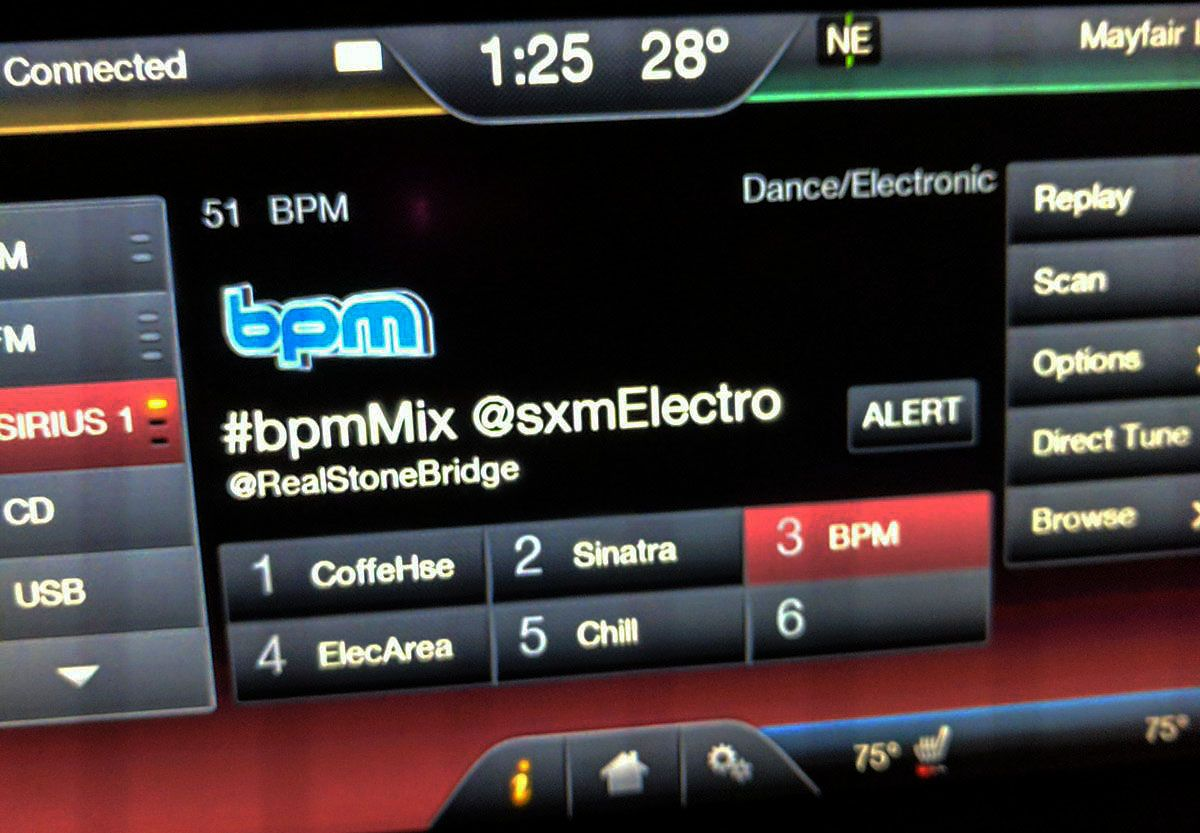 SiriusXM BPM tonight 11pm PST: StoneBridge #bpmMix rocking a