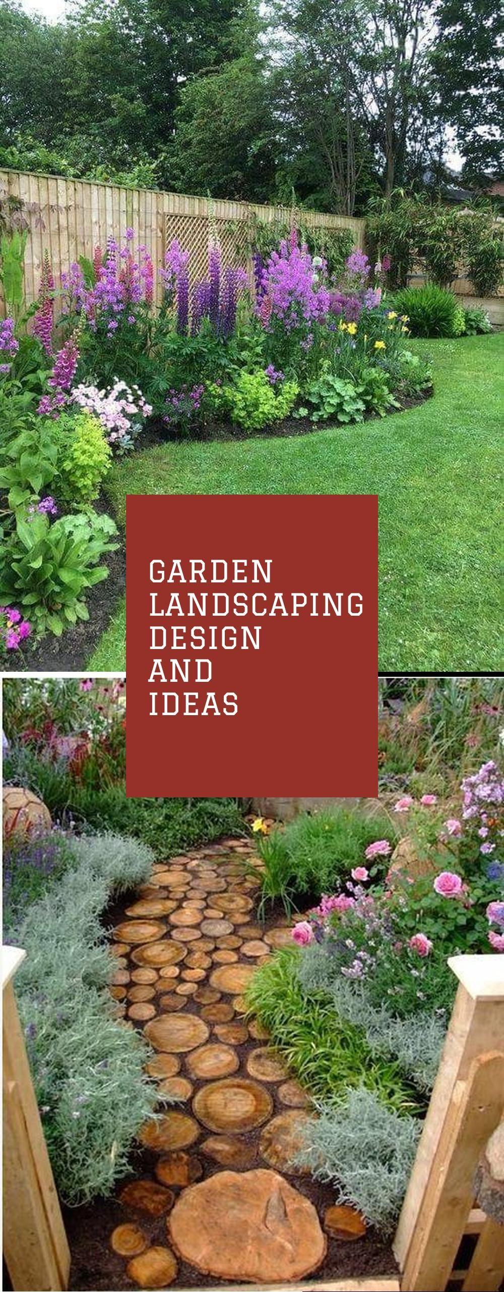 42+ Best garden landscaping ideas info