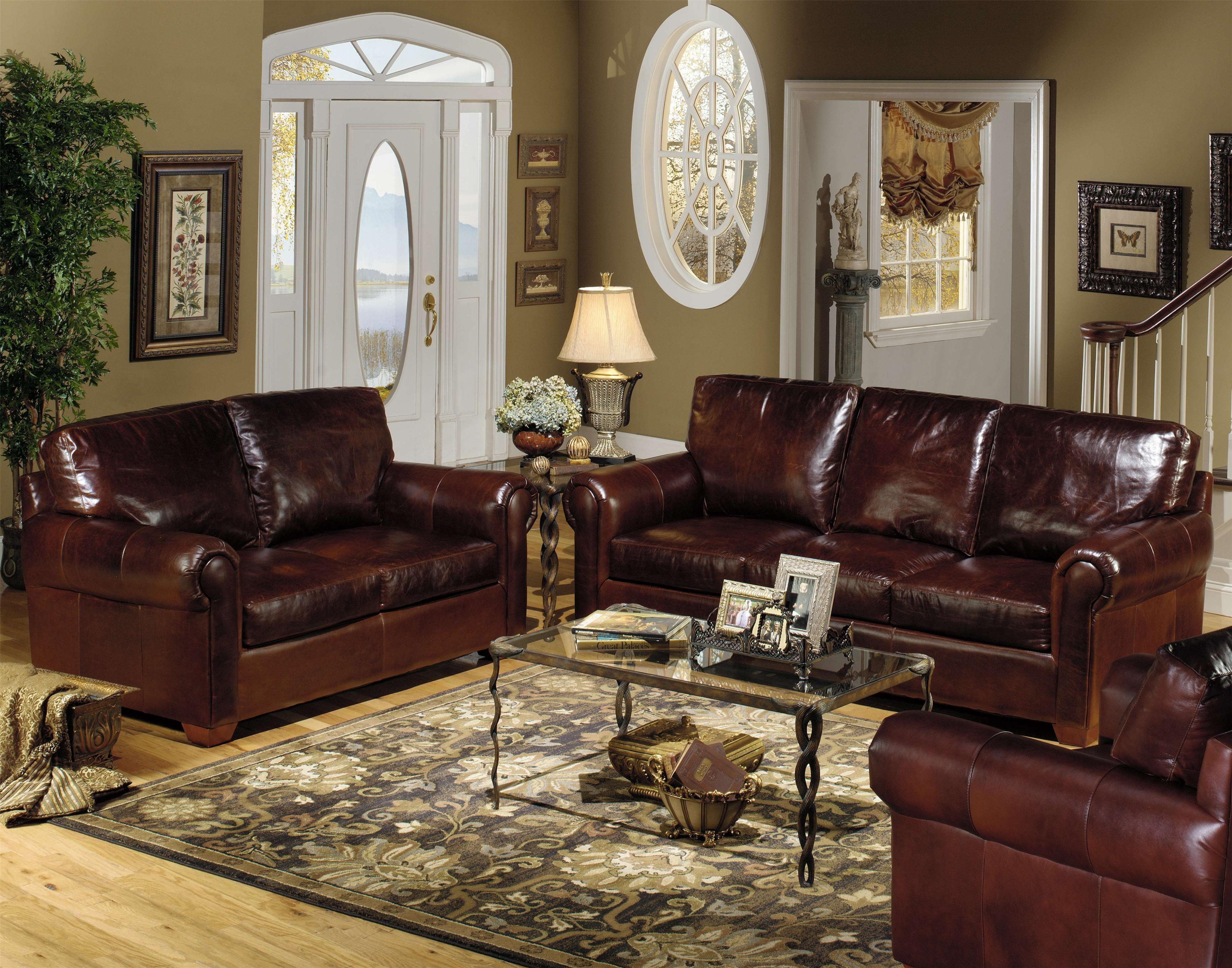 Brompton Western Usa Premium Leather Western Living Rooms Brown Living Room Western Living Room Furniture
