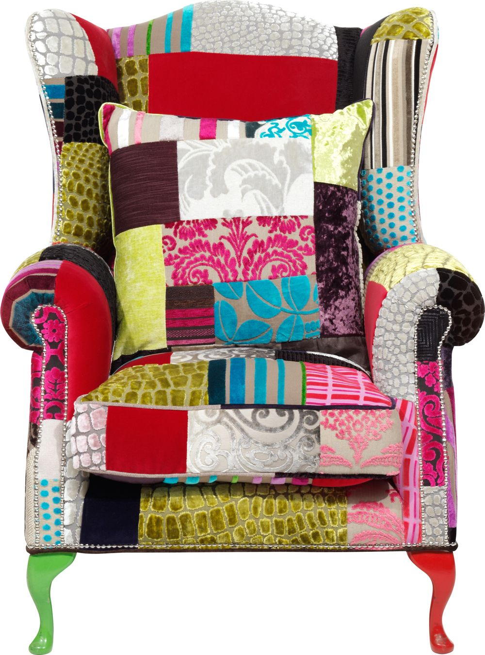 The fabulous Grandwing Patchwork Armchair from Sofa Design ...