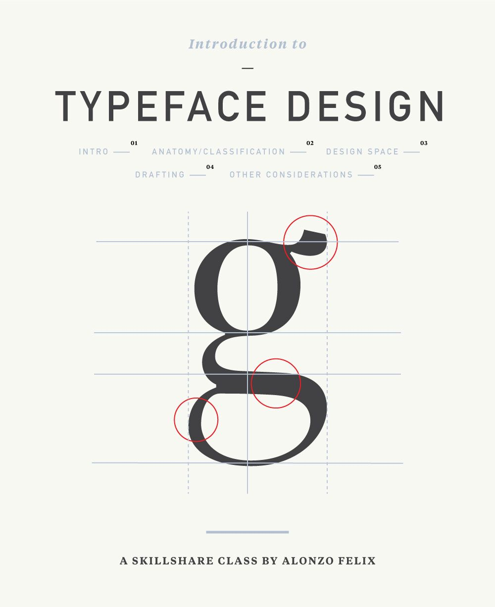 CLASS: Introduction to Typeface Design - Skillshare