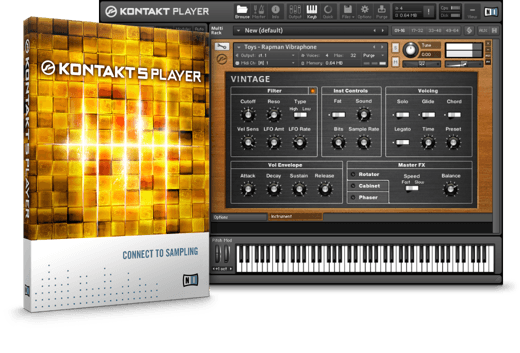 Komplete : Samplers : Kontakt 5 Player : Free Download