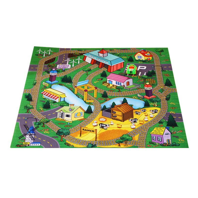 Baby Happy Town Game Mat With Car