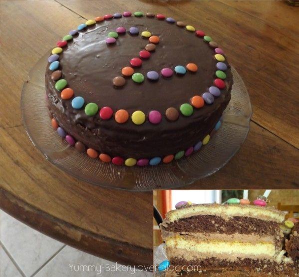 Dans cet article je vous propose une recette g niale de - Gateau anniversaire pour enfant ...