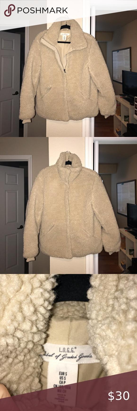 Faux Shearling jacket Jacket H&M Jackets & Coats #myposhpicks