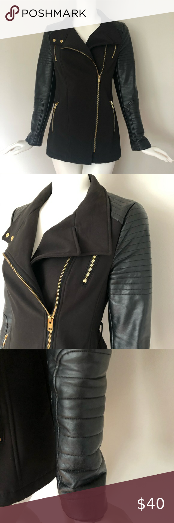 Black River Faux Leather Jacket in 2020 Leather jacket
