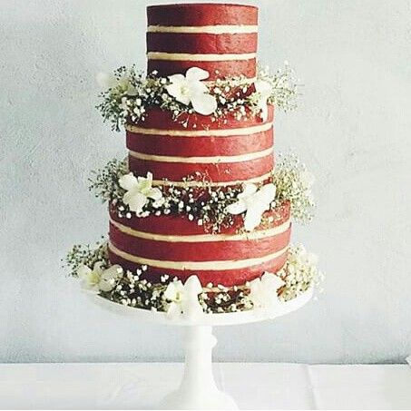wedding cakes red velvet velvet cake wedding cake 25359