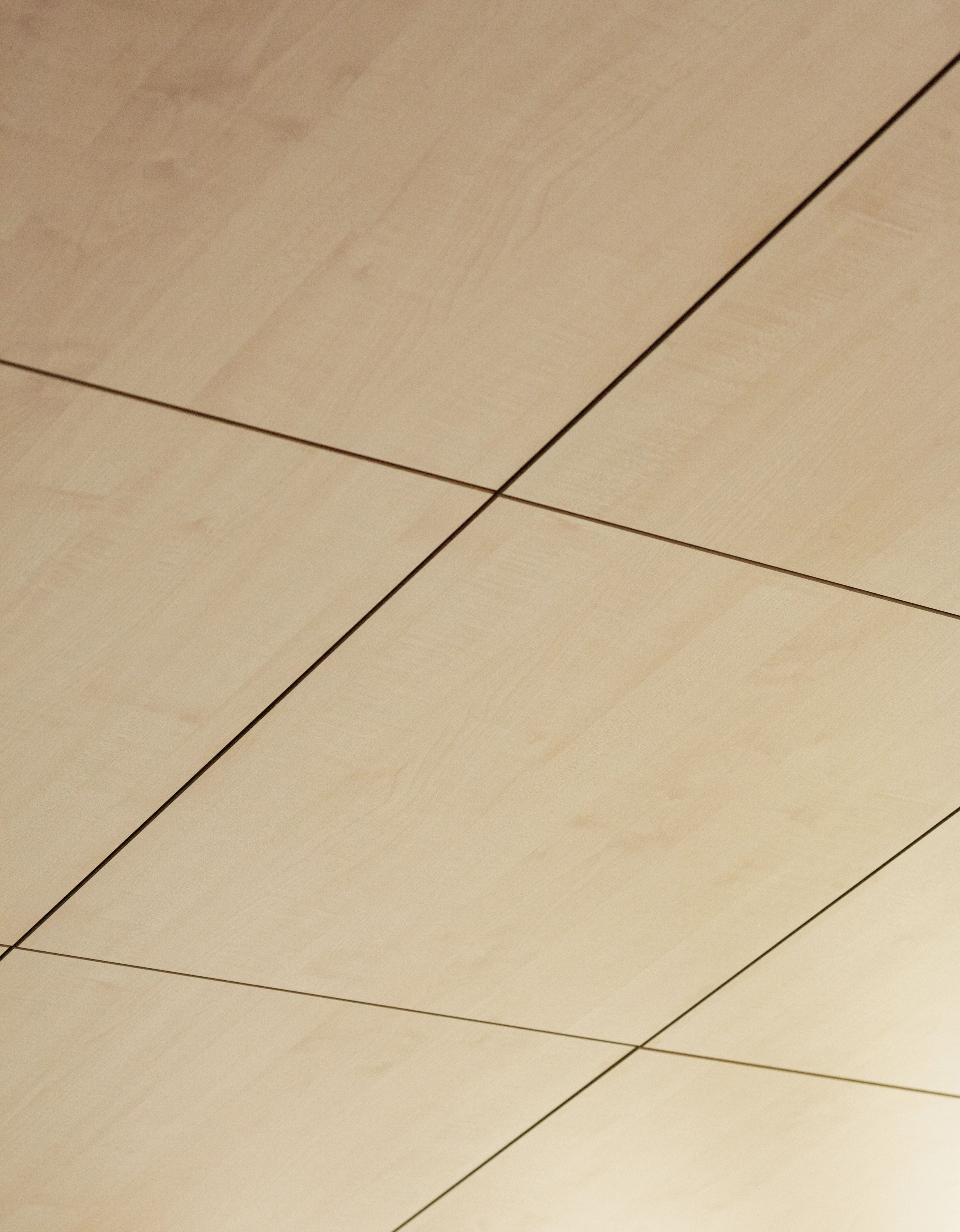 Acoustic Mdf Ceiling Tiles 60x60 System By Patt Gruppo Fantoni Acoustic Ceiling Panels Ceiling Panels Plywood Ceiling