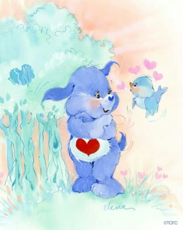 *Care Bear Cousins Loyal Heart Dog