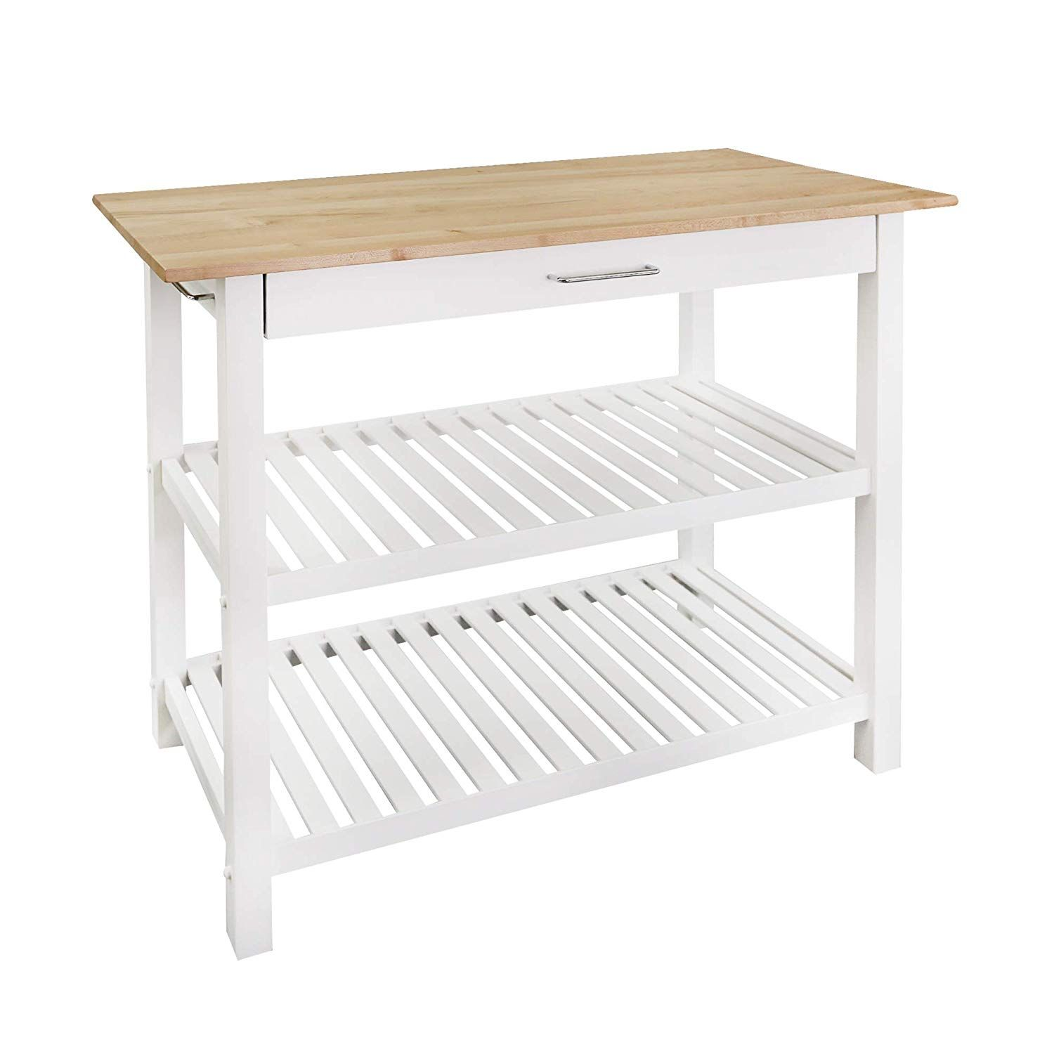 Best Casual Home Kitchen Island With Solid American Hardwood 640 x 480