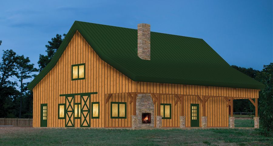pre-designed ponderosa country barn home kit front view 3D ... on summer cottage plans, strip mall plans, log cabin plans, ranch modular homes, townhouse plans, ranch style homes, 3 car garage plans, ranch backyard, floor plans, ranch art, ranch luxury homes, ranch log homes,