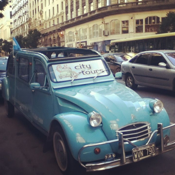 Citroen en Buenos Aires • citroen 2CV