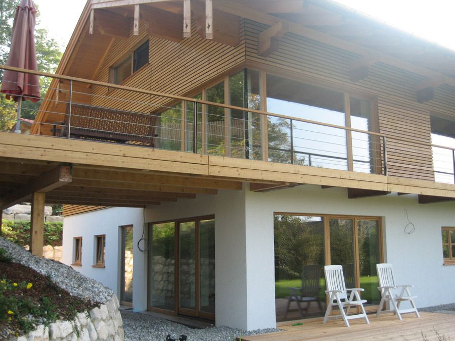 Holzfassade home pinterest holzfassade hausbau und for Modernes bauernhaus