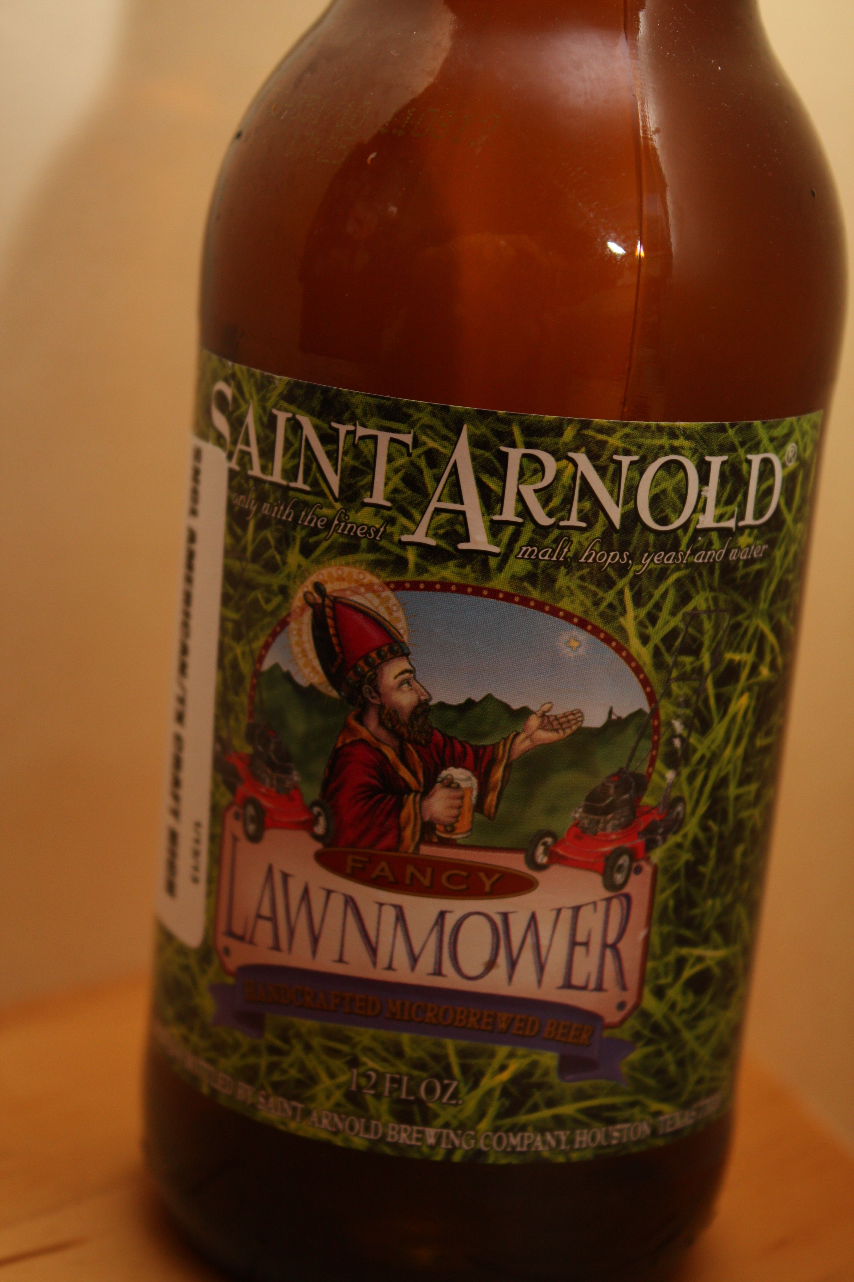 Saint Arnold - Fancy Lawnmower    Nice and easy drinking beer.  Great for a summers day