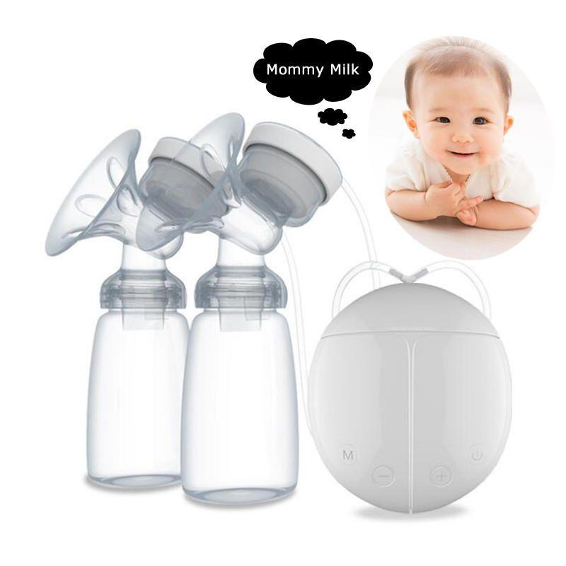 Massage Postpartum Promote Lactation Device Hand Free Breast Pump USB Electric