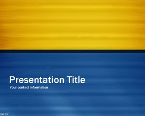 Blue Time Powerpoint Template Is A Free Blue Design Slide