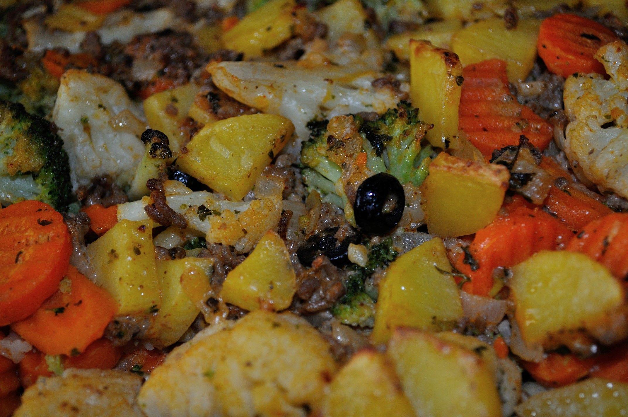 Mediterraner Gemüseauflauf