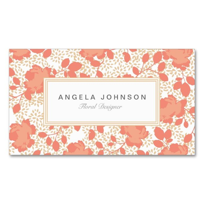 Ornate floral business cards make your own business card with this ornate floral business cards make your own business card with this great design all reheart Image collections