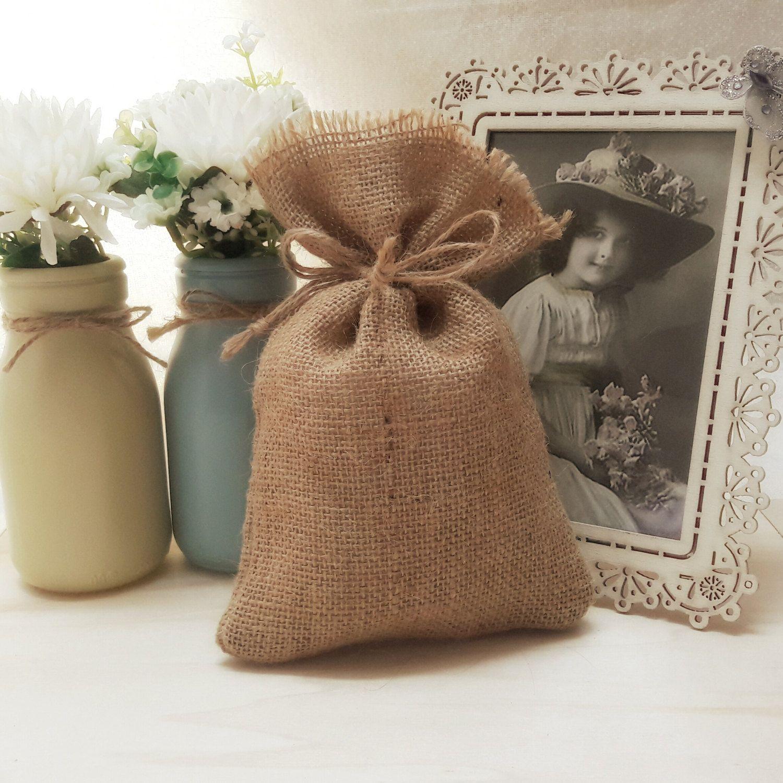 burlap wedding favor bags - HD1500×1500