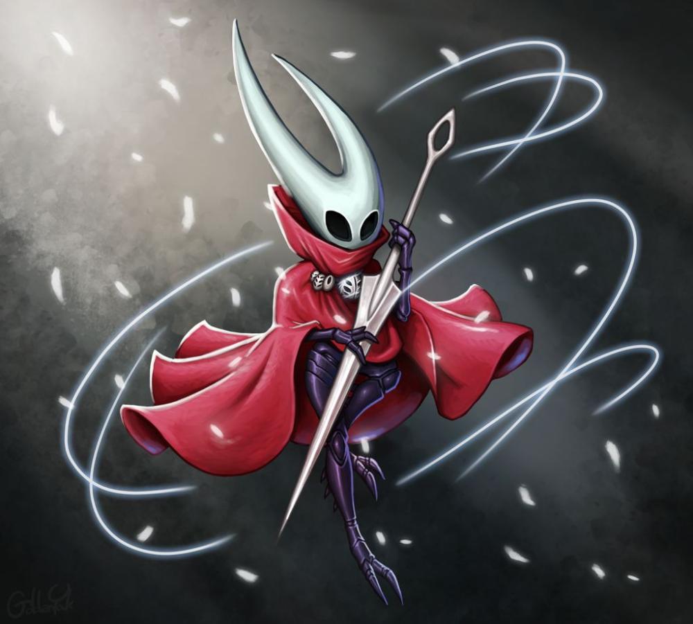 Hollow Knight Fan Art Hornet By Goldenyak On Deviantart Fan Art Knight Art