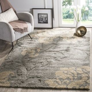 Safavieh Florida Dark Grey Beige Fl Area Rug 8 X 10 Pinterest Rugs House Colors And